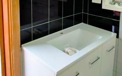 Granny flat bathroom facelift Maidstone